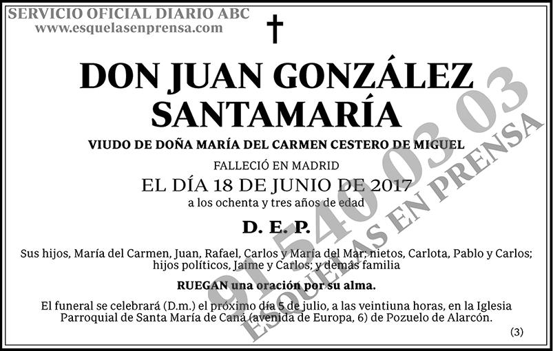 Juan González Santamaría